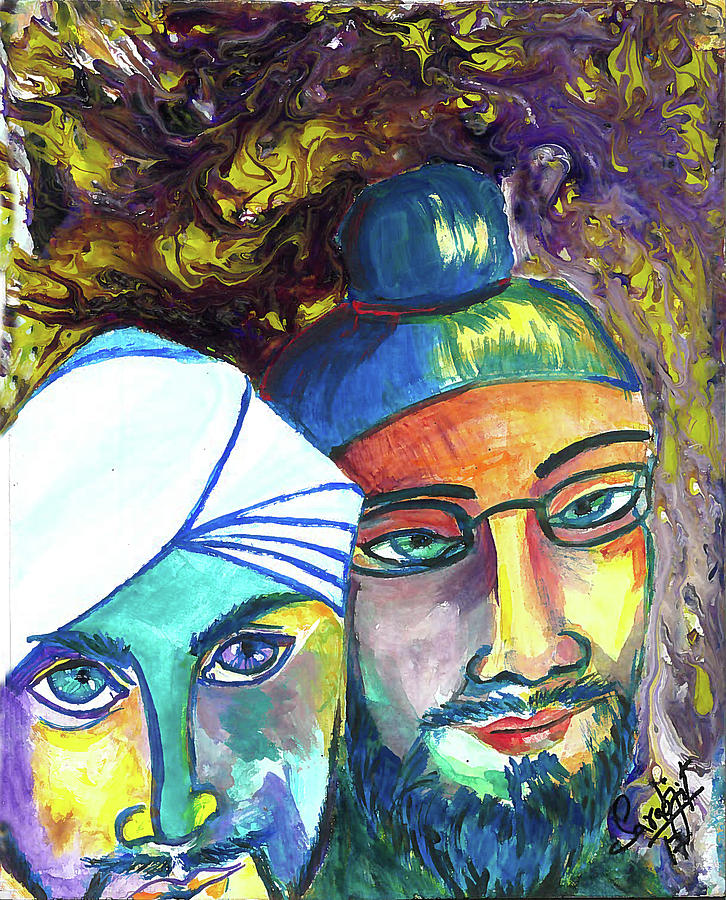 Singhs and Kaurs-5 by Sarabjit Singh