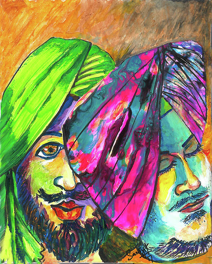 Singhs and Kaurs-7 by Sarabjit Singh