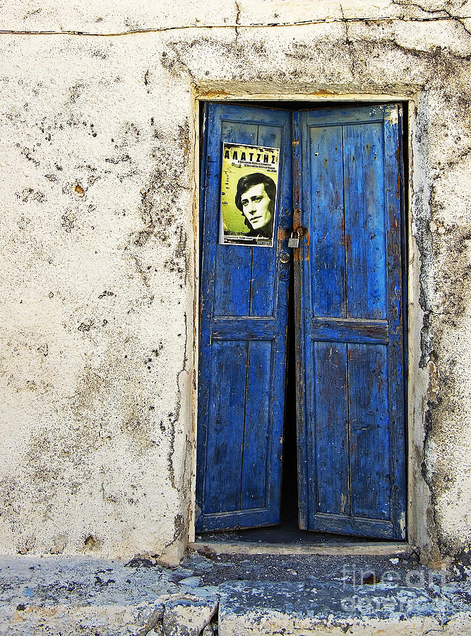 Door Photograph - Singin The Blues by Meirion Matthias