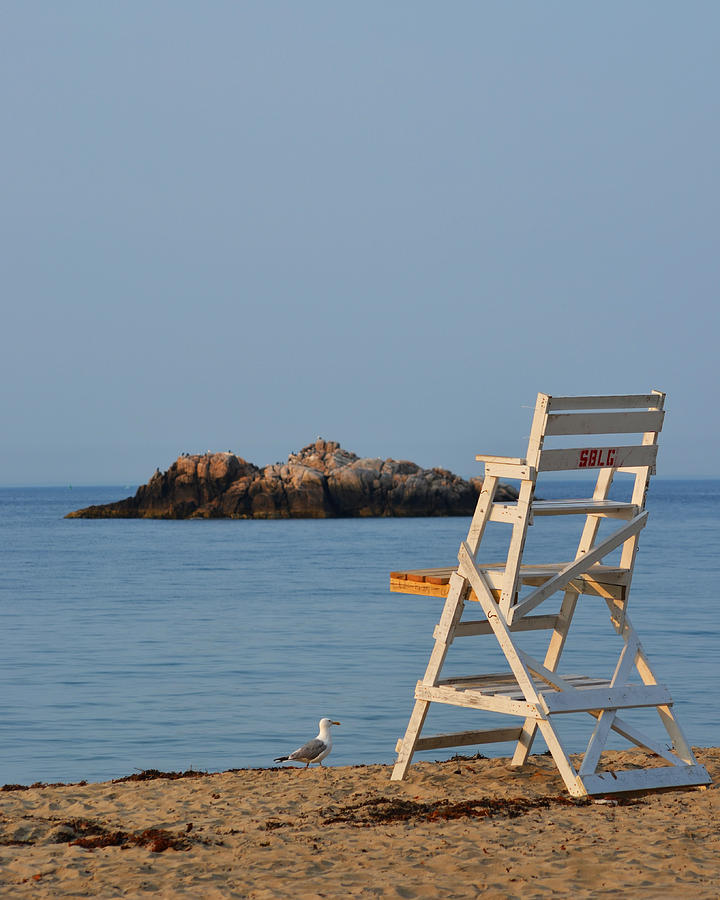 manchester photograph singing beach lifeguard chair manchester by the sea ma by toby mcguire