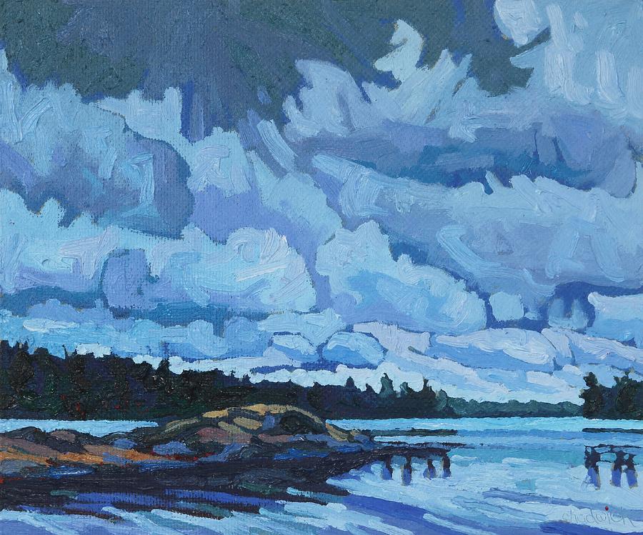 2100 Painting - Singleton Islands by Phil Chadwick