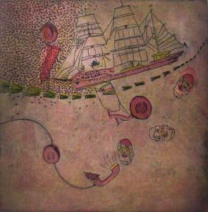 Intaglio Print - Sinking Ships And Optimists by Bryan Kite