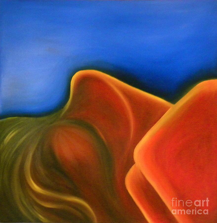 Sinuous Curves IV by FANNY DIAZ