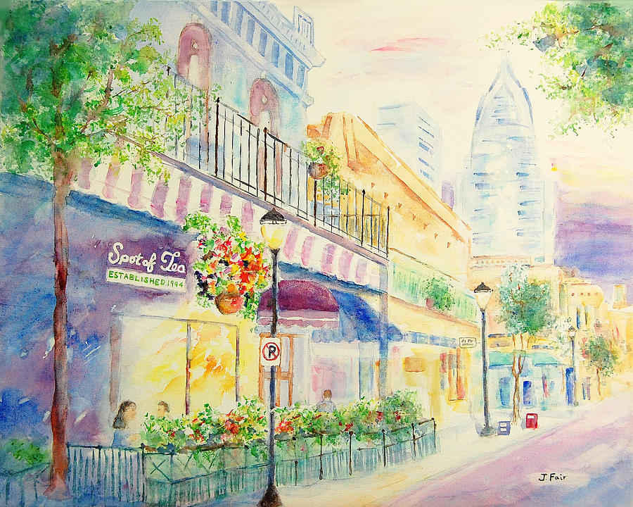 Sipping Sweet Tea in Mobile by Jerry Fair