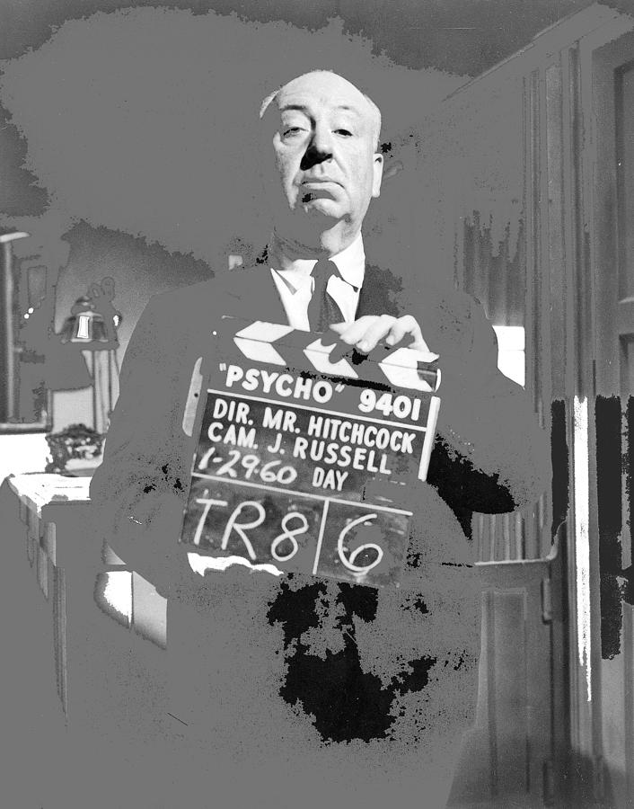 Sir Alfred Hitchcock Filming Psycho 1960 2016 By David Lee Guss