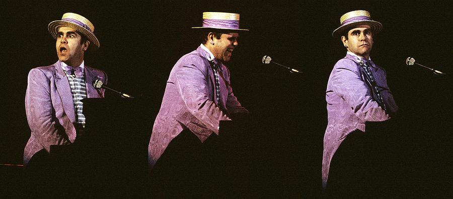 Music Photograph - Sir Elton John 3 by Dragan Kudjerski