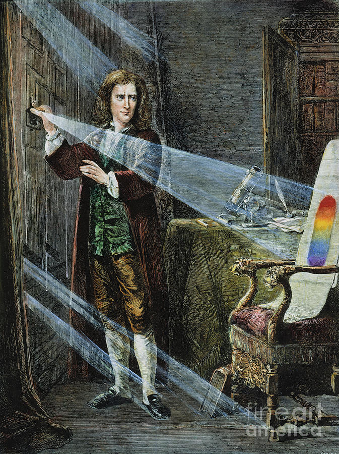 18th Century Photograph - Sir Isaac Newton by Granger