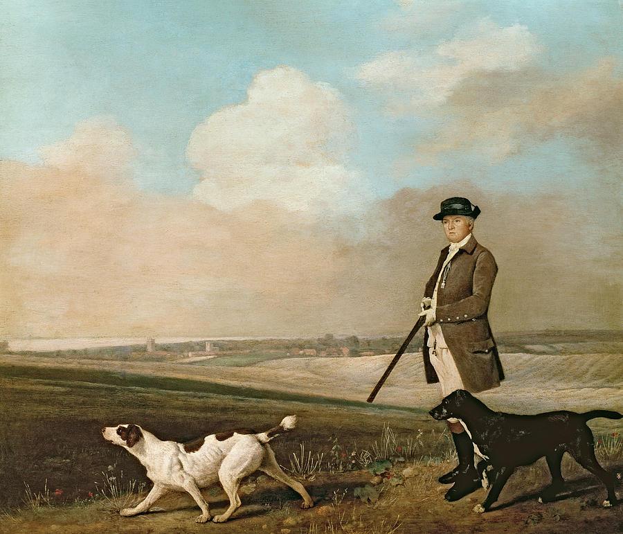 Sir Painting - Sir John Nelthorpe by George Stubbs