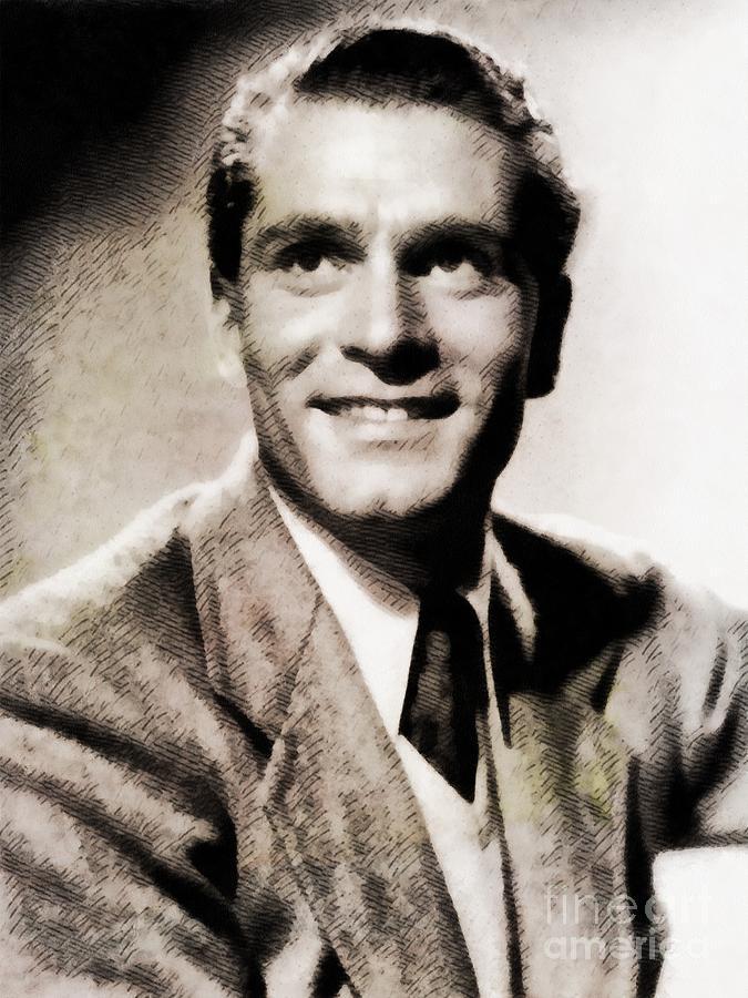 Sir Laurence Olivier Vintage Actor By John Springfield