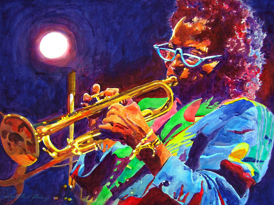 Miles Davis Painting - Sir Miles Davis by David Lloyd Glover