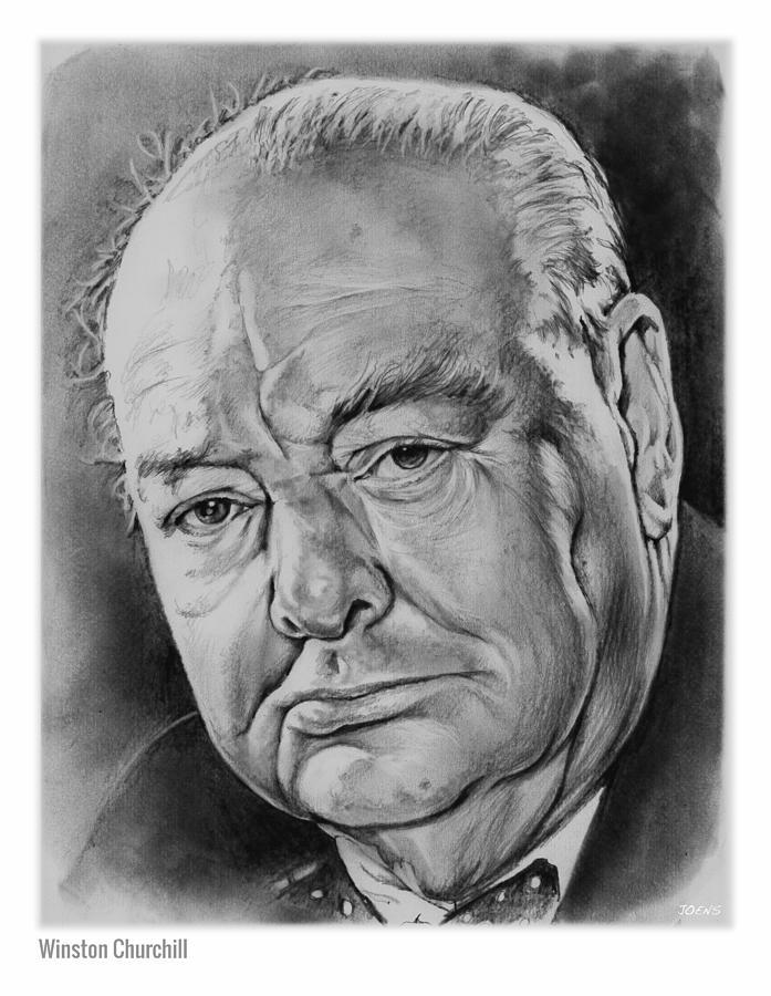 Sir Winston Churchill Drawing