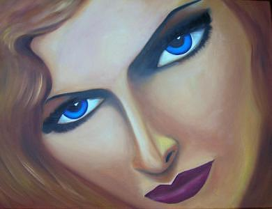 Siren Painting by Casa Tavio