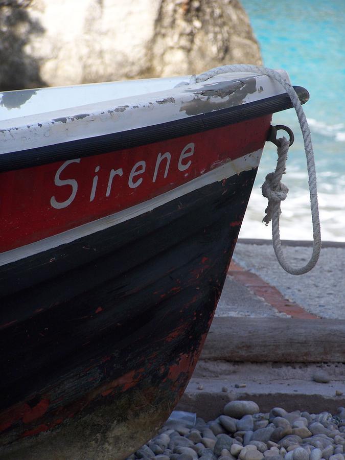 Capri Photograph - Sirene by Adam Schwartz