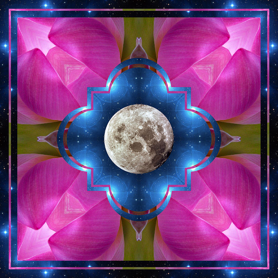 Yoga Art Photograph - Sister Moon by Bell And Todd