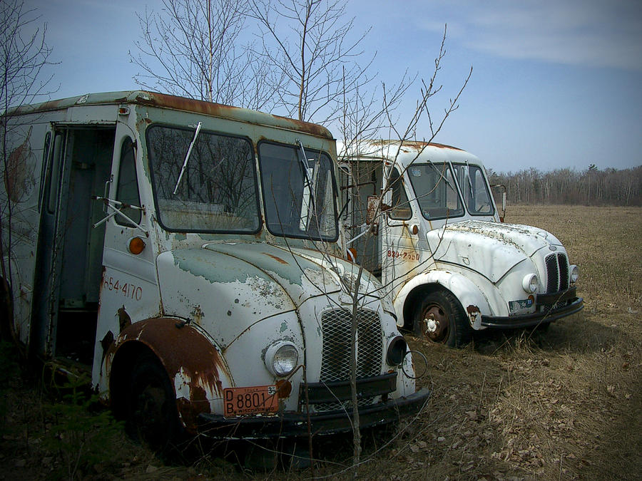 Trucks Photograph - Sisters by Tim Nyberg