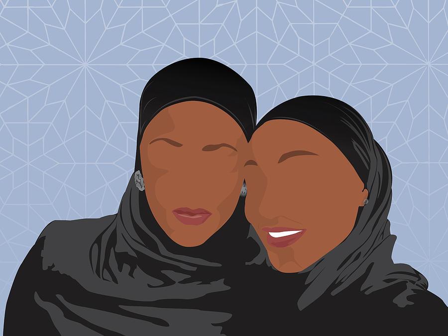Sisters Digital Art by Scheme Of Things
