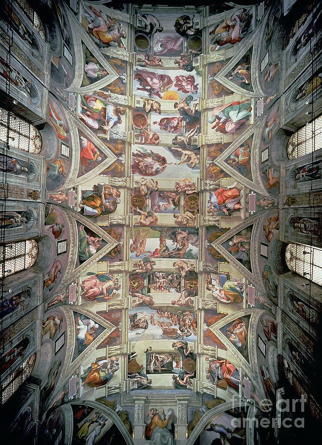 Ceiling Paintings Fine Art America