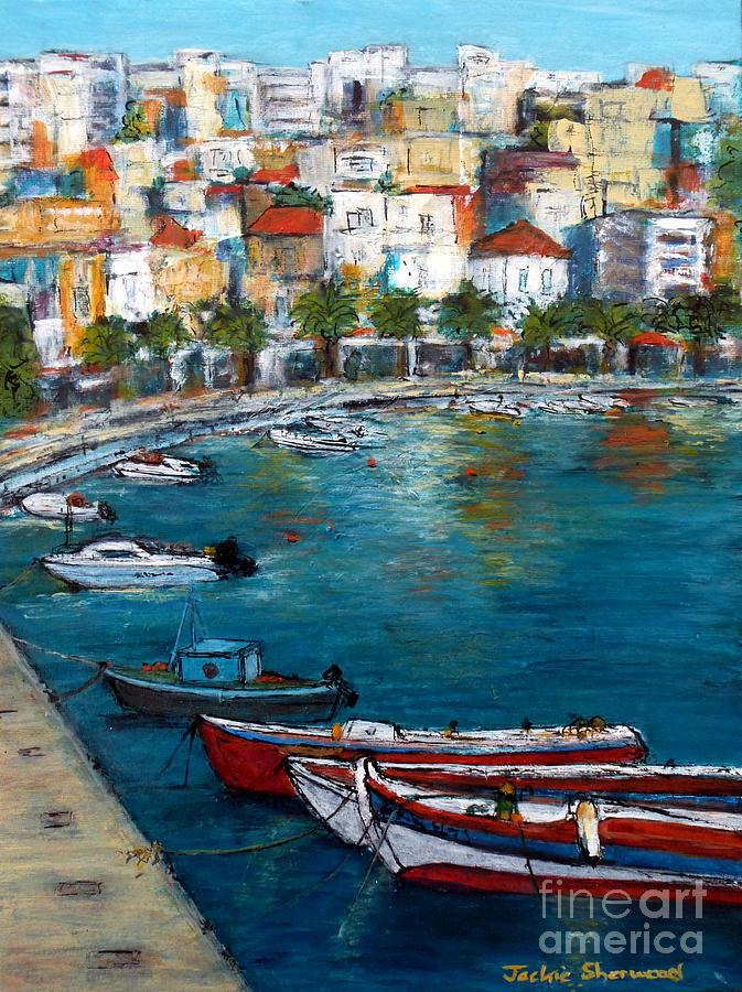 Sitia Greece by Jackie Sherwood