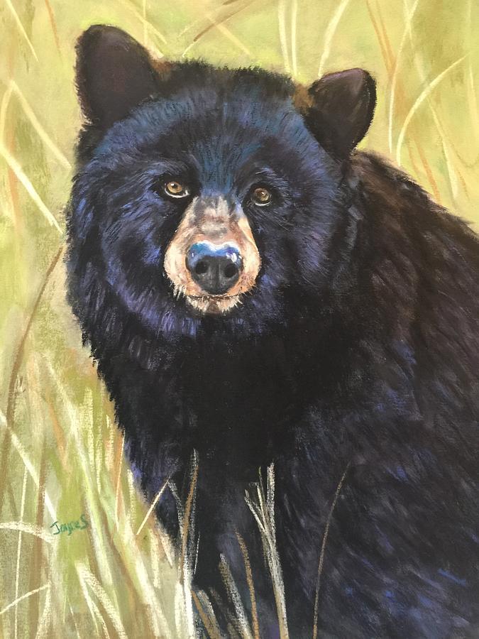 Sitting Bear by Joyce Spencer