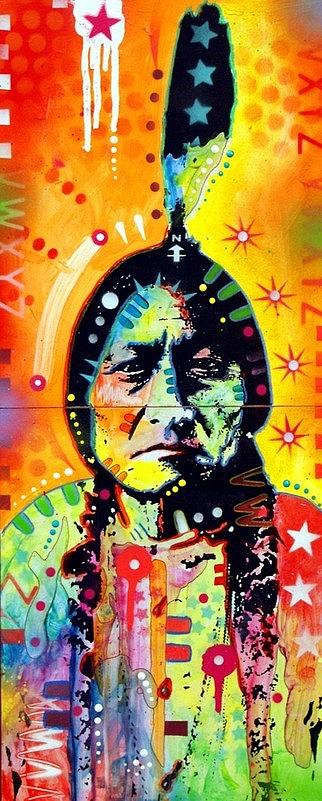 Sitting Bull Painting - Sitting Bull by Dean Russo Art