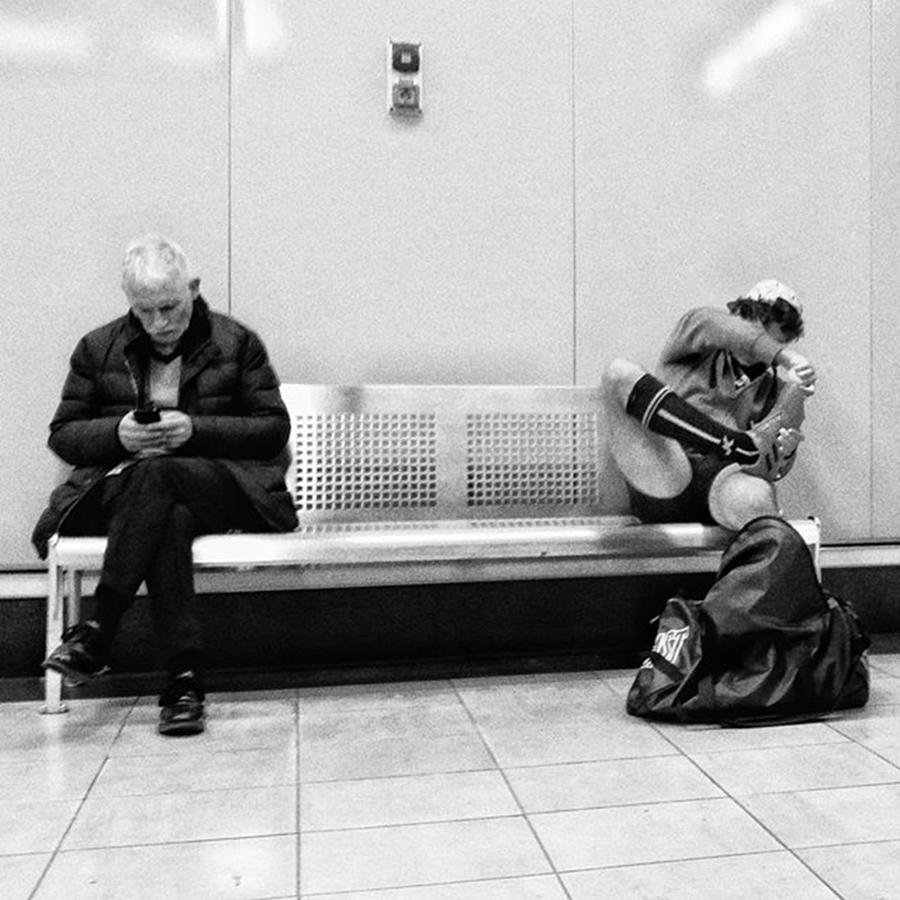 Madrid Photograph - Sitting Options  #people #instapeople by Rafa Rivas