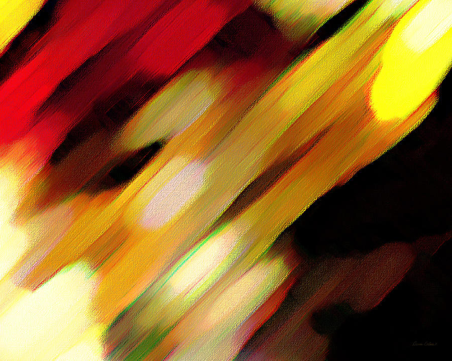Abstract Painting - Sivilia 11 Abstract by Donna Corless