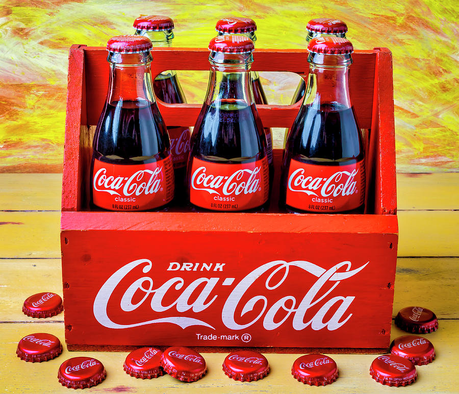Six Photograph - Six Pack Of Cokes by Garry Gay