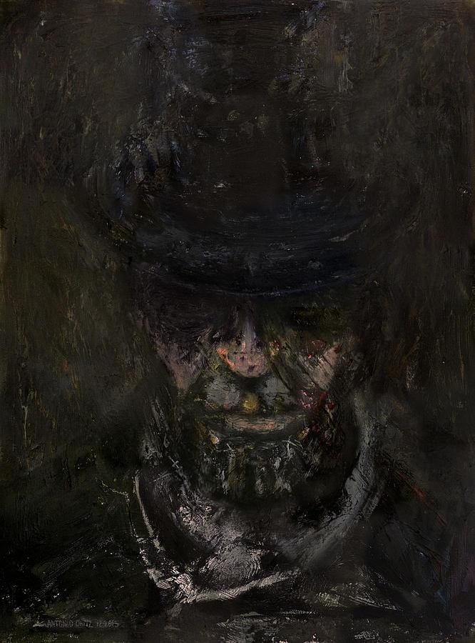 Abraham Lincoln Painting - Sixteen  by Antonio Ortiz