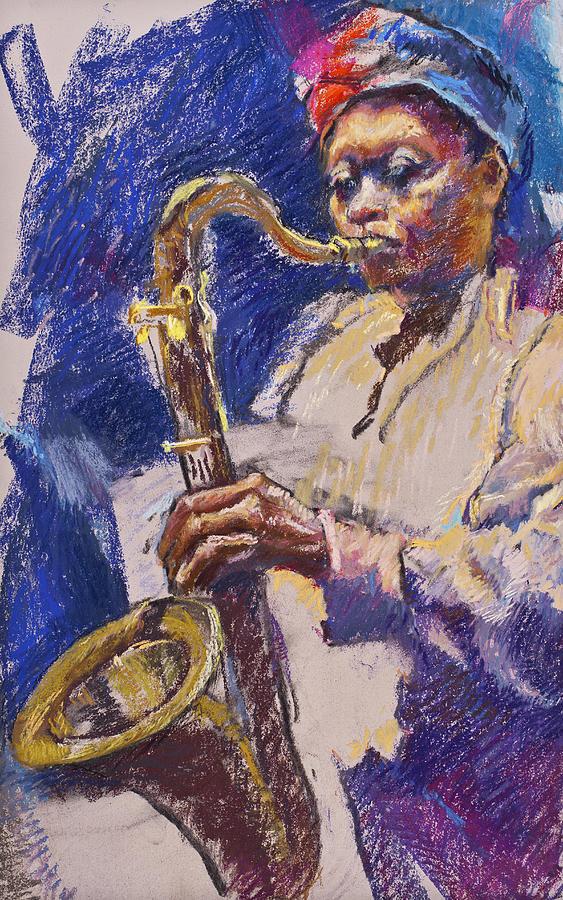 Sizzlin' Sax by Ellen Dreibelbis