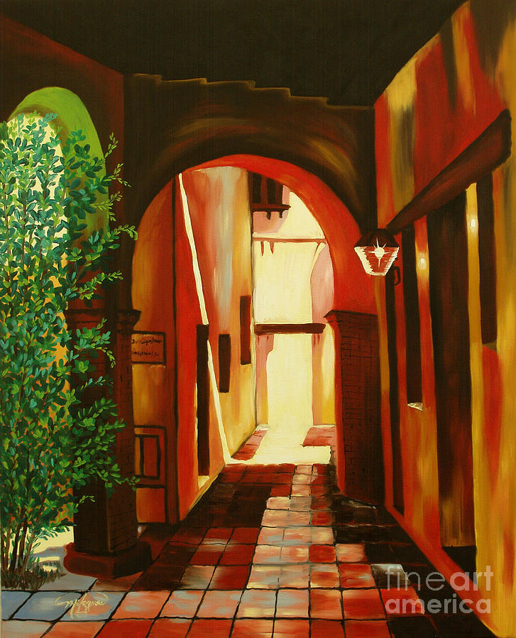 S.j. Capistrano Mission Painting