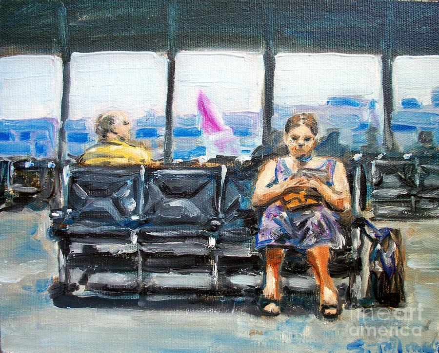 San Jose Painting - SJC by Sheila Tajima