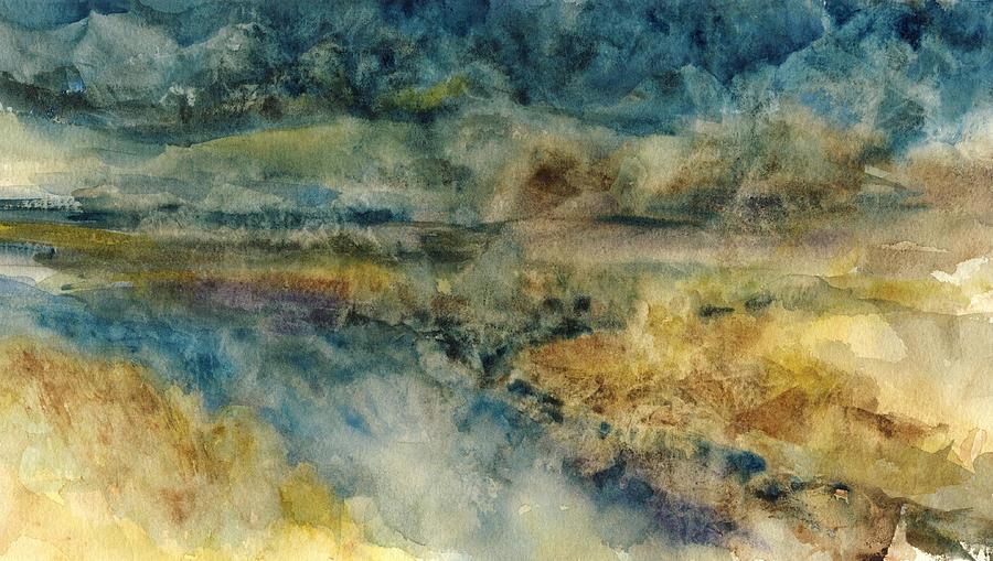 Landscape Painting - Skagit Flats by Paul Workman