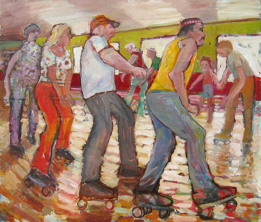 The Skaters by Paul Emory