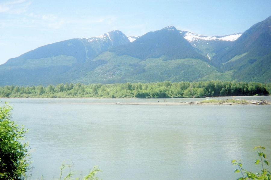Photograph Photograph - Skeena River British Columbia by Michael Mccormack