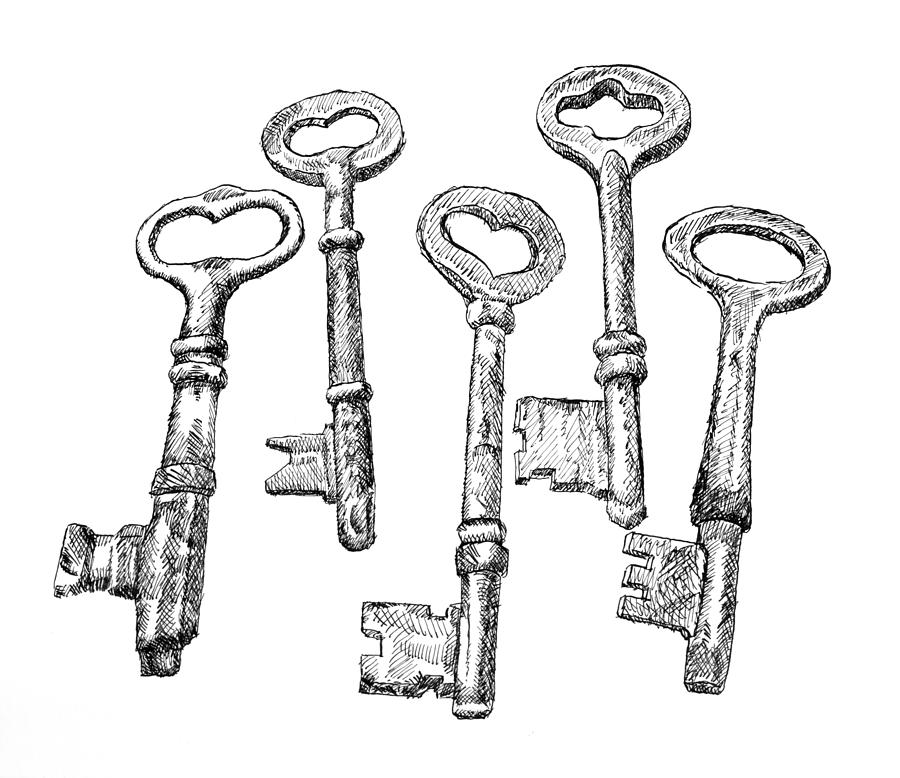 Skeleton Keys by Dominic White