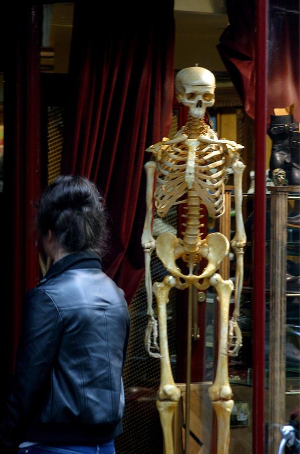 Photographer Photograph - Skeleton Staff by Jez C Self