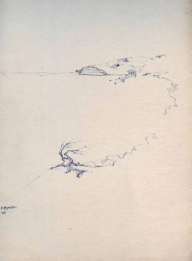 Sketch 5 Drawing by Joan Kamaru