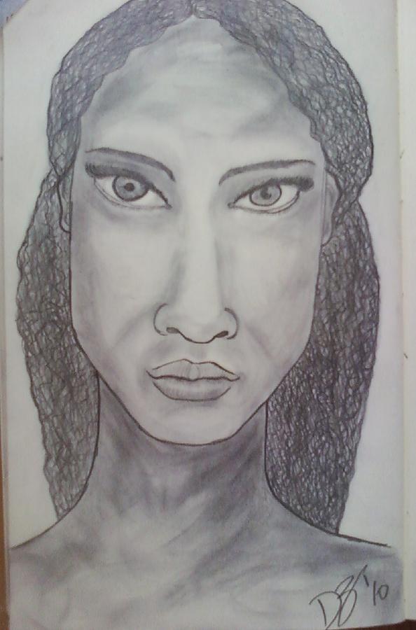 Sketch Drawing - Sketch 7 by Dorine Coello