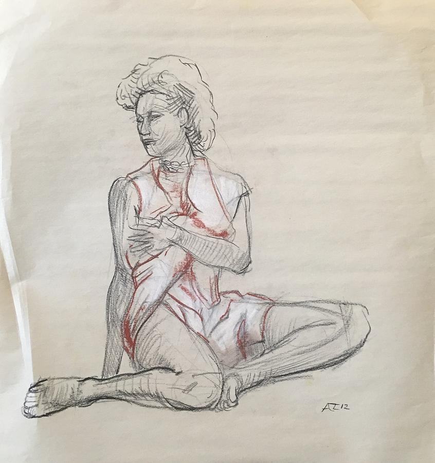 Sketch of model by Alejandro Lopez-Tasso