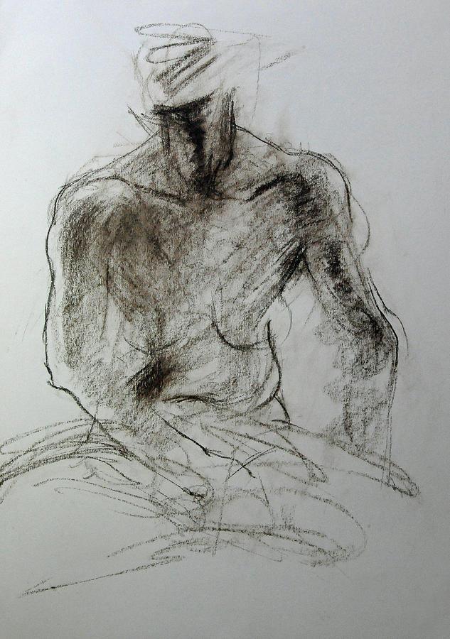Sketch of Torso by Harry Robertson