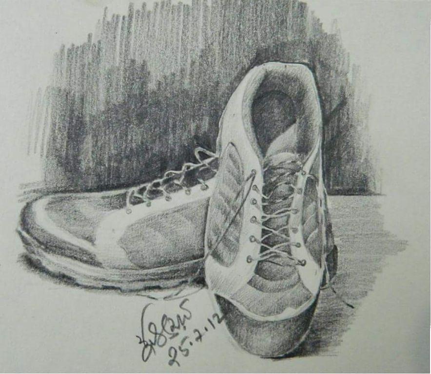 Pencil Sketch Drawing - Sketch1 by Abu Zunaid