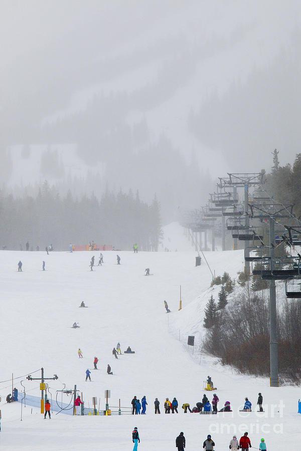 Ski Slope At Breckenridge Photograph