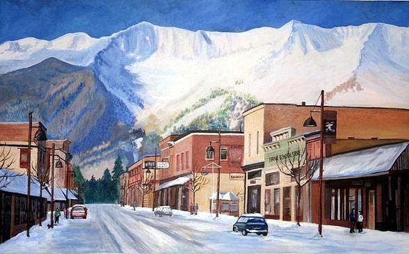 Skier's Challenge by Sue Nelson