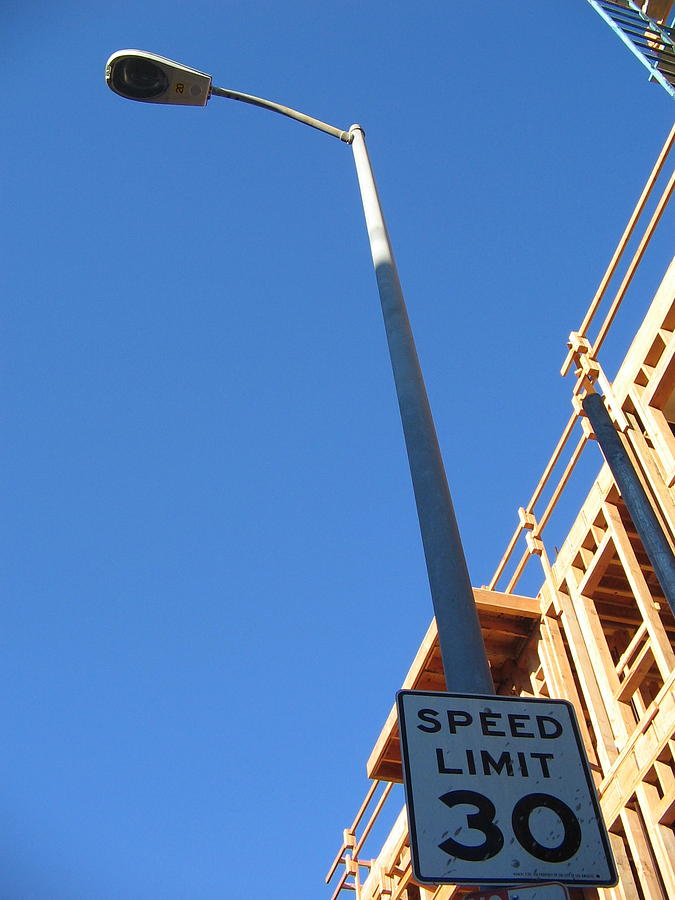 Speed Limit Photograph - Skies The Limit by Ricky Sencion
