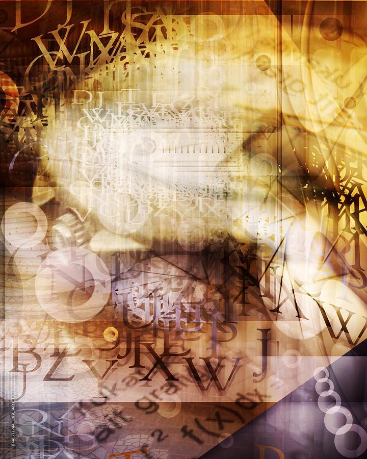 Abstract Digital Art - Skill by Dreamlight  Creations
