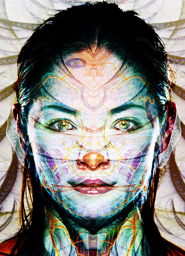 Bones Digital Art - Skin Deep by Bear Welch