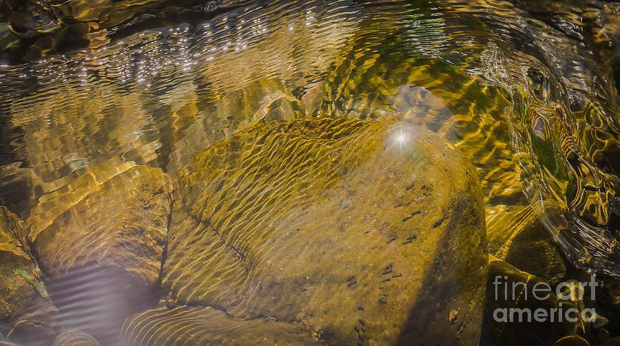 Landscape Photograph - Skin River by Lyudmila Prokopenko