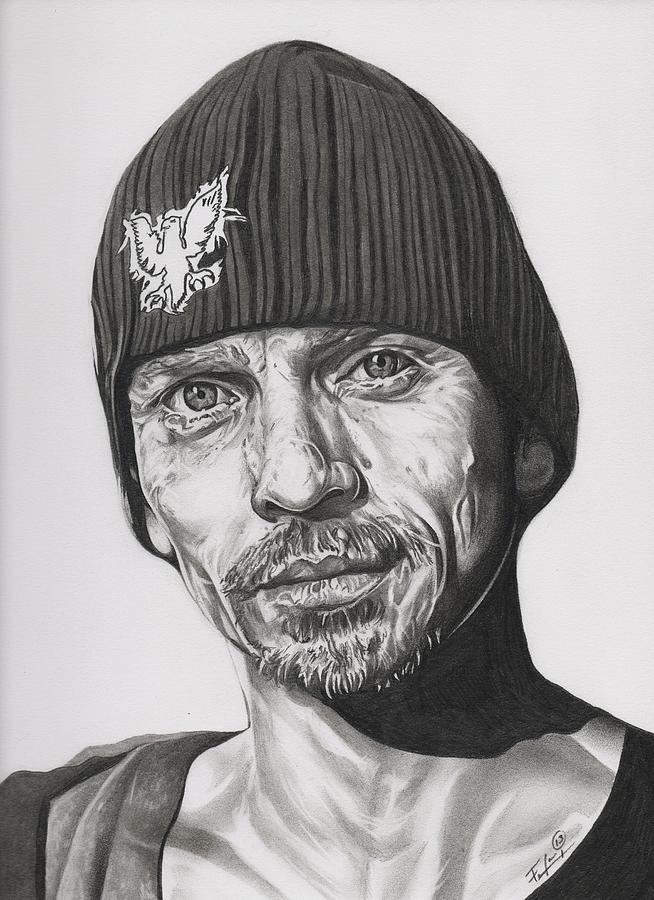 Breaking Bad Drawing - Skinny Pete  Breaking Bad by Fred Larucci