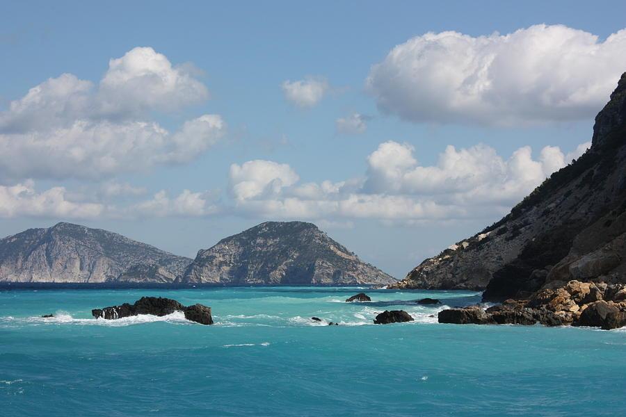 Greece Photograph - Skopelos Blue by Yvonne Ayoub