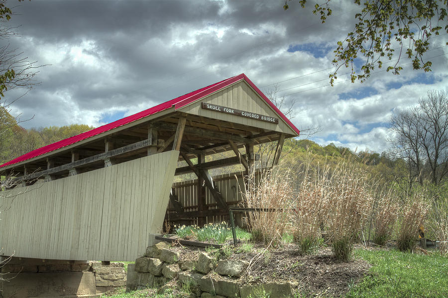 Skull Fork Covered Bridge Photograph